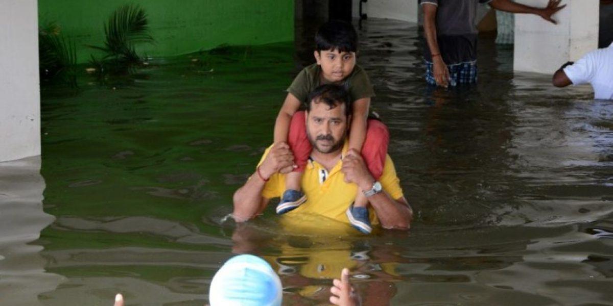 Al menos 74 muertos en la India y Sri Lanka por las lluvias torrenciales