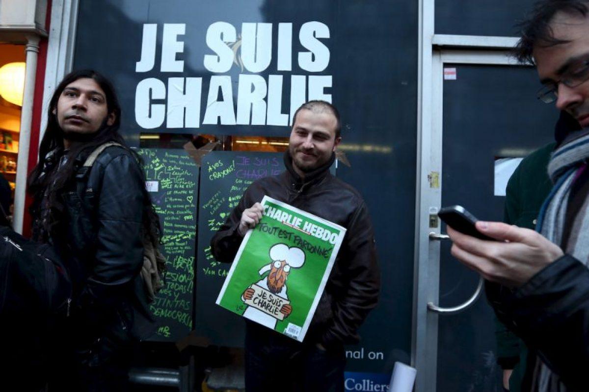 La frase utilizada en aquél momento fue #JeSuisCharlie Foto:AFP. Imagen Por: