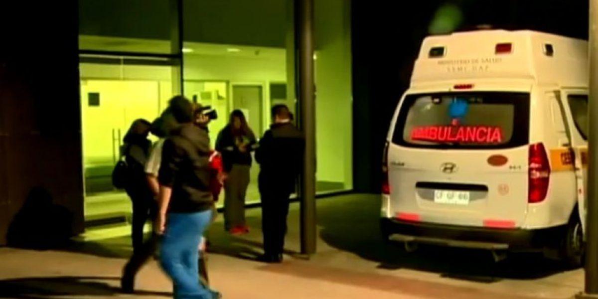 Maipú: portonazo termina con dueño de casa golpeado y trasladado al hospital