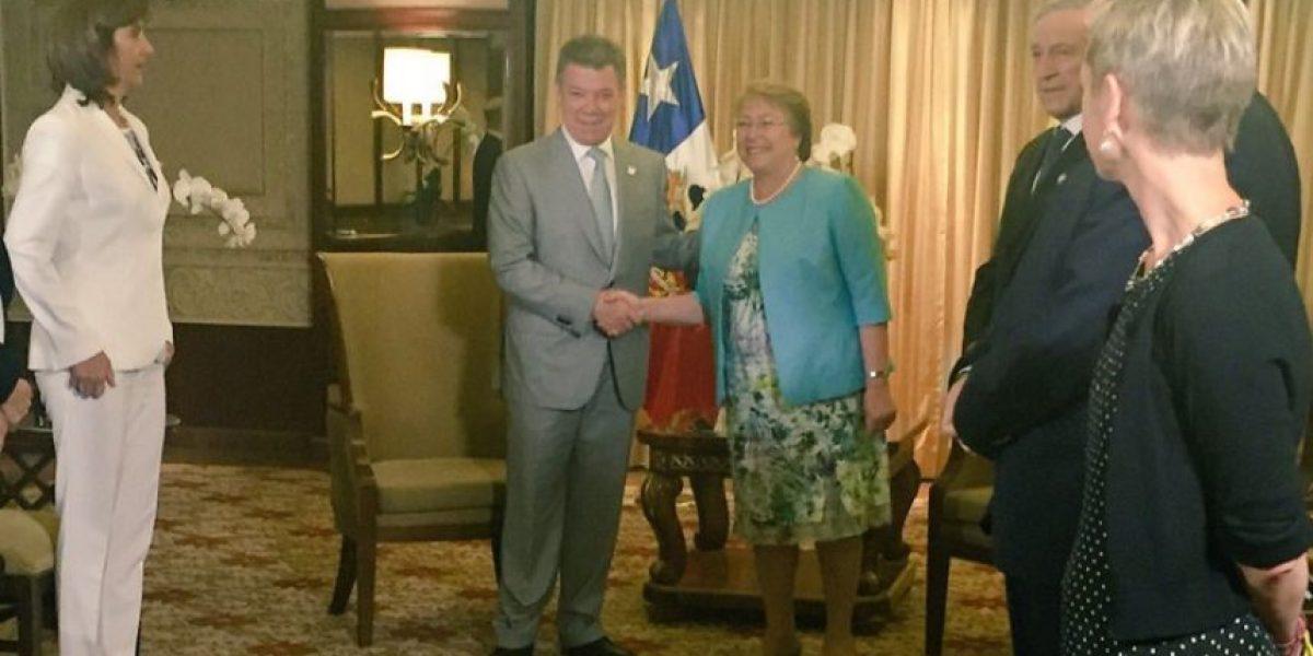 Colombia y Chile mantuvieron bilateral: no hubo mención a demanda boliviana