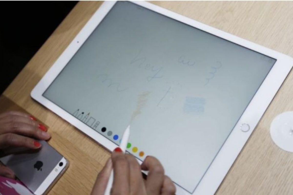 Apple Pencil ayudará en cuestiones de precisión Foto:Getty Images. Imagen Por: