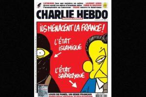 También criticaban a gobiernos anteriores, como el de Nicolás Sarkozy Foto:Facebook: Charlie Hebdo Officiel. Imagen Por: