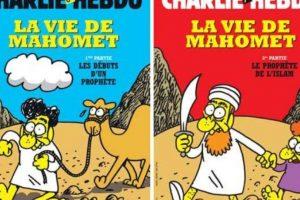 Mahoma era uno de los personajes recurrentes Foto:Facebook: Charlie Hebdo Officiel. Imagen Por: