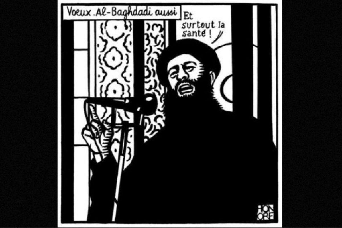 Este fue el último dibujo de Charlie Hebdo antes del atentado de enero Foto:Facebook: Charlie Hebdo Officiel. Imagen Por: