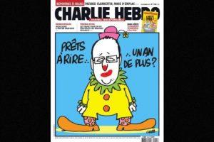 También se burlaban del presidente Francois Hollande Foto:Facebook: Charlie Hebdo Officiel. Imagen Por:
