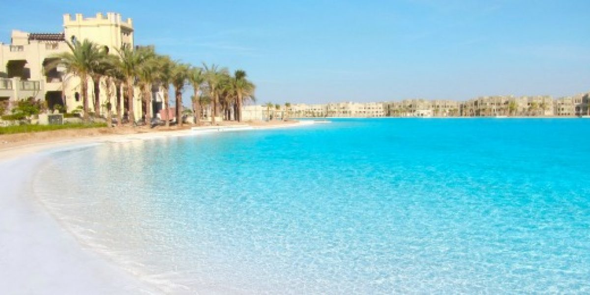 Crystal Lagoons obtiene nuevo récord Guinness por laguna en el desierto