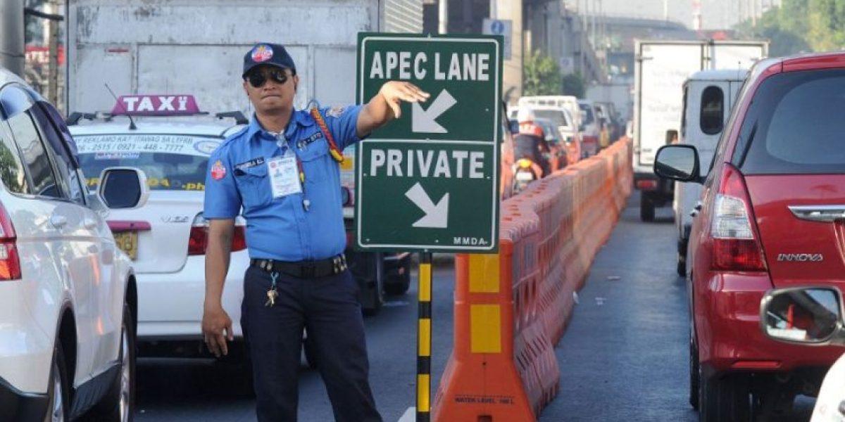 Mujer da a luz en pleno atasco provocado por cumbre de la Apec en Manila