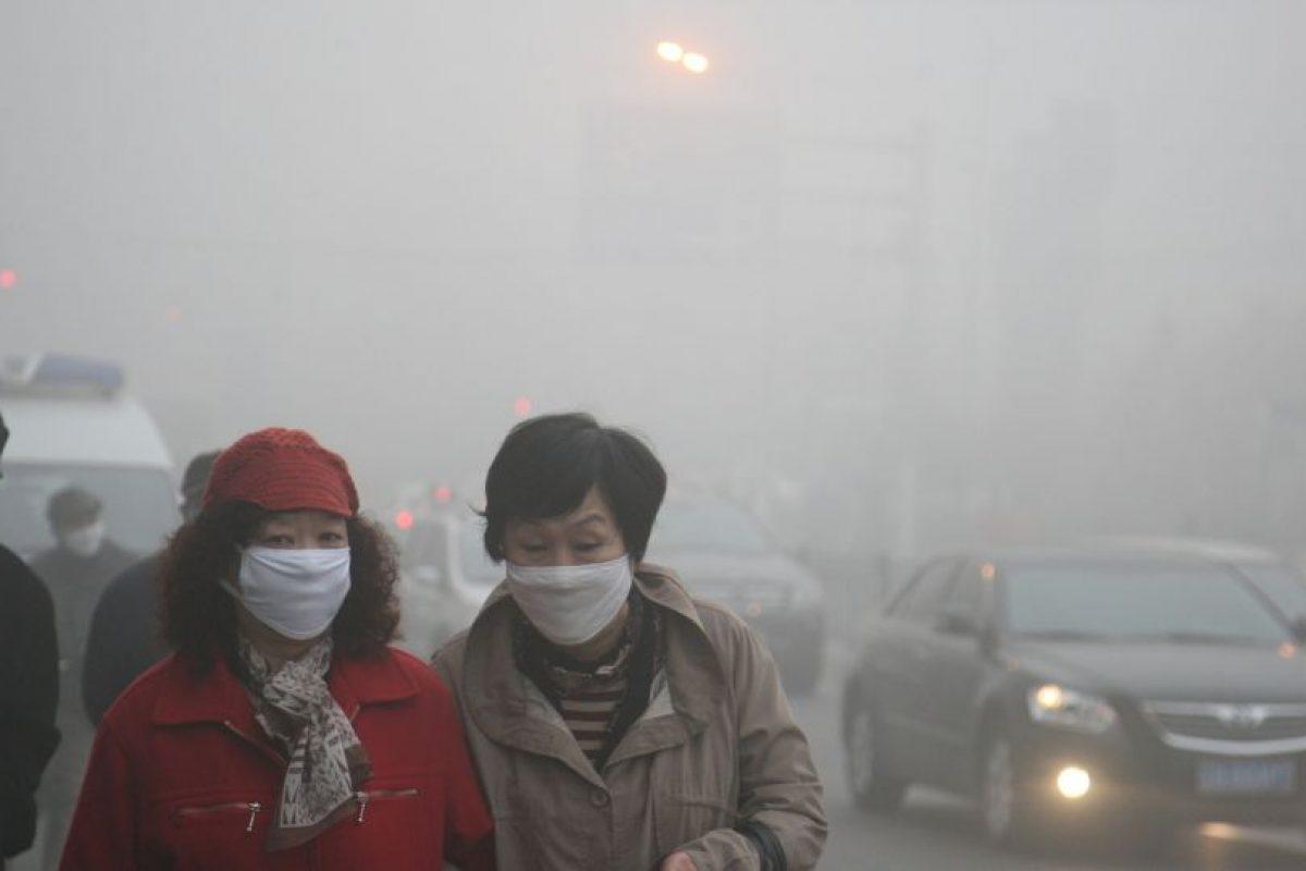 La contaminación registrada en Heilongjiand fue de 400 microgramos por metro cúbico (m3) de aire. Foto:Getty Images. Imagen Por: