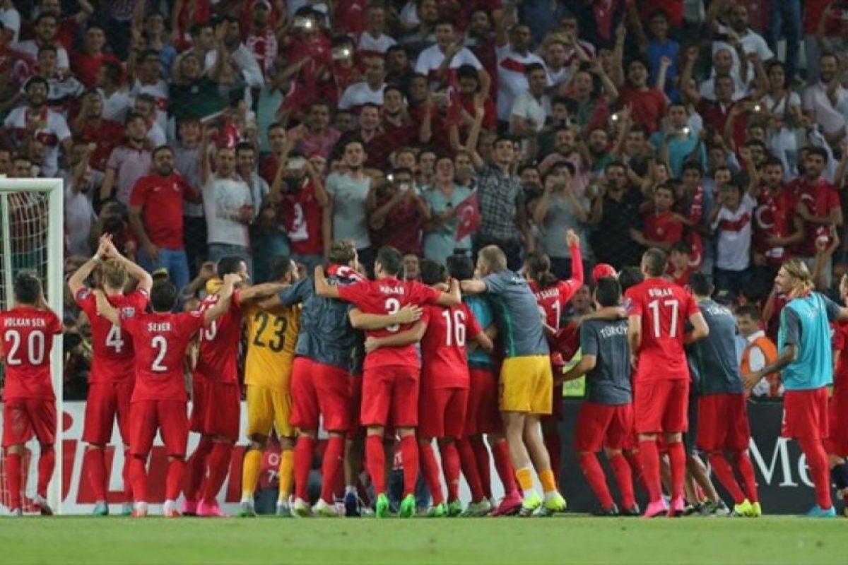 Fue el mejor tercer lugar de toda la competición. Foto:AFP. Imagen Por: