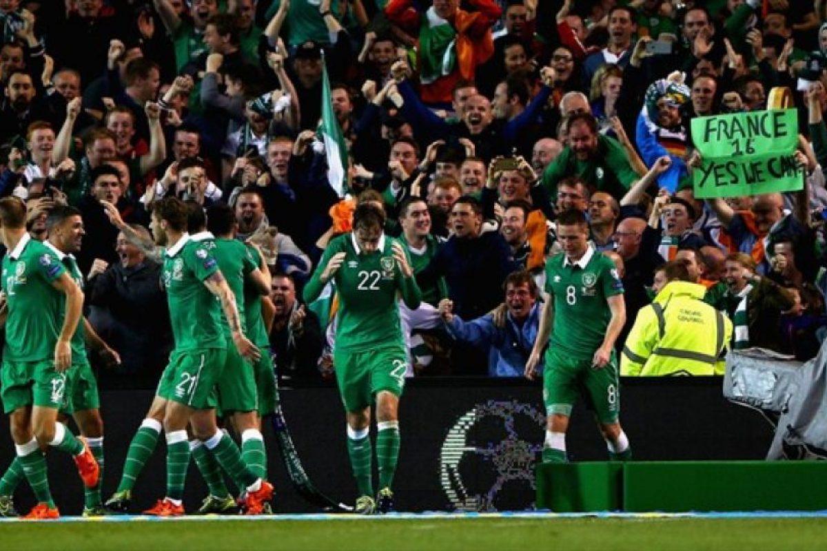 24. República de Irlanda. Llega a Francia 2016 después de vencer a Bosnia Foto:AFP. Imagen Por: