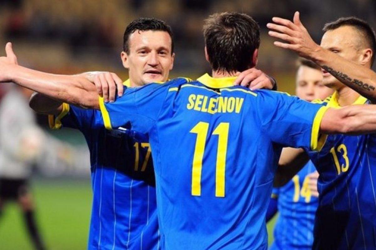 22. Ucrania superó en su llave a Eslovenia Foto:AFP. Imagen Por: