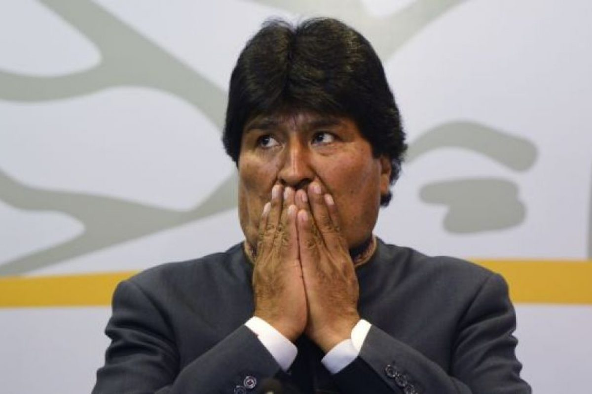 """En 2011, el periodista Alfredo Rodríguez escribió el libro """"Evadas: cien frases de Juan Evo Morales Ayma para la historia"""" en el que se recopilan sus frases menos acertadas Foto:Getty Images. Imagen Por:"""