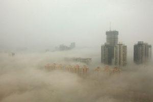 La pasada semana la polución del aire registró niveles históricos. Foto:Getty Images. Imagen Por: