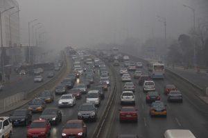 El aumento de la contaminación se debió al incremento en el uso de calefactores. Foto:Getty Images. Imagen Por: