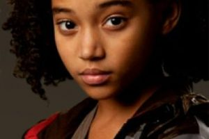 """Amandla Stenberg interpretó a la adorable """"Rue"""", la única aliada de """"Katniss"""". Foto:Lionsgate. Imagen Por:"""