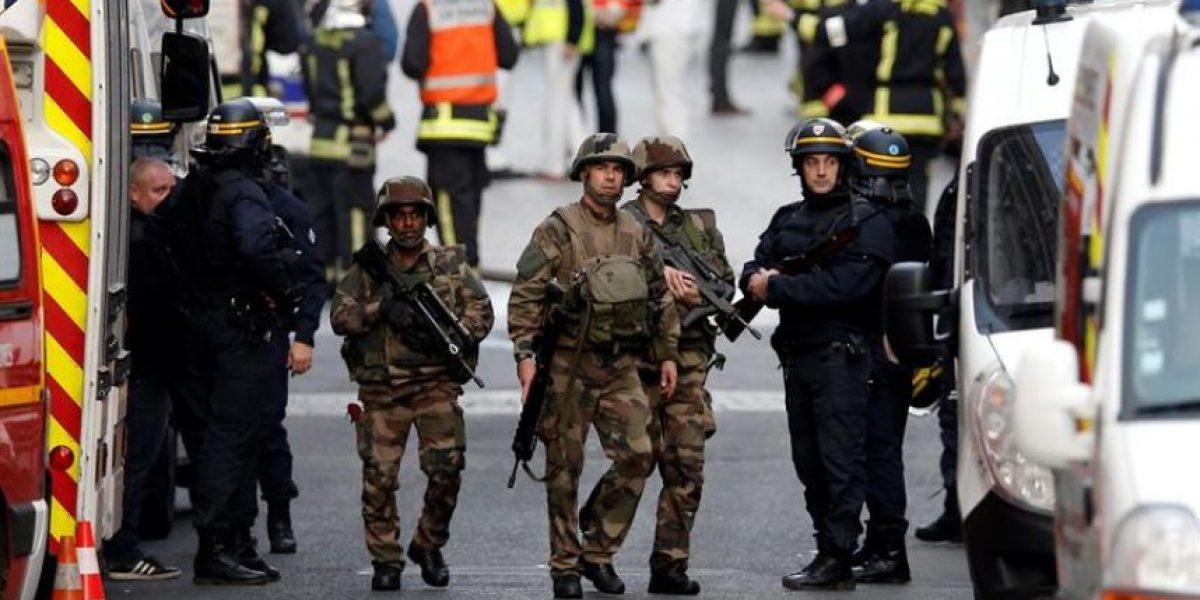 Mujer se hizo estallar durante operativo antiterrorista en París
