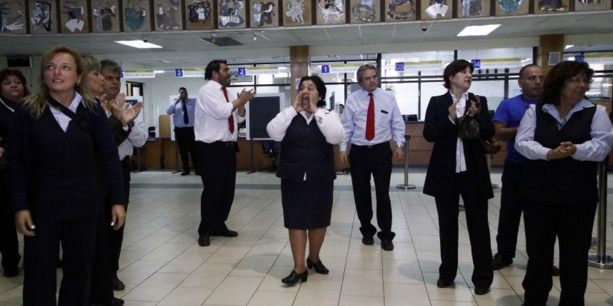 Registro Civil: funcionarios presentarán recurso por descuentos salariales