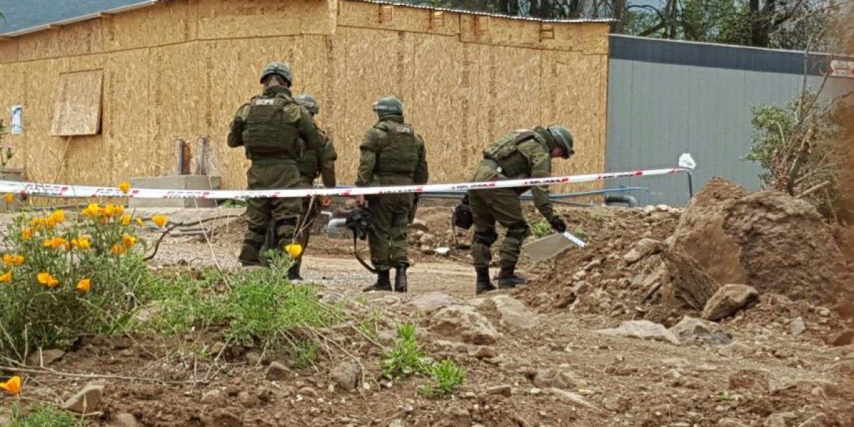 Hallazgo de mortero en La Dehesa provoca operativo policial