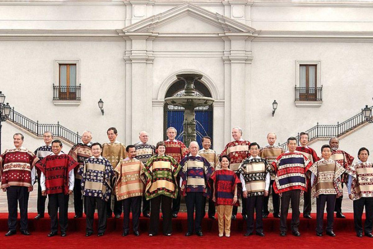 Y Chile celebró la cumbre entre el 20 y el 21 de noviembre de 2004 en Santiago Foto:Wikimedia.org. Imagen Por: