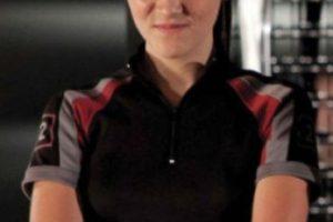 """Isabelle Fuhrman se convirtió en """"Clove"""", una joven experta en lanzar cuchillos. Foto:Lionsgate. Imagen Por:"""