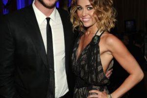 """El amor entre Liam Hemsworth y Miley Cyrus surgió dentro y fuera de la película """"La Última Canción"""". Foto:Getty Images. Imagen Por:"""