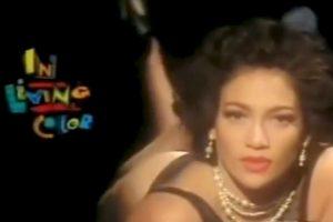 """Meses más tarde se convirtió en una bailarina """"Fly Girl"""" del show de comedia """"In Living Color"""". Foto:vía YouTube. Imagen Por:"""