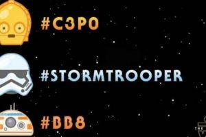 """4- Emojis por el día de """"Star Wars"""". Foto:vía Twitter.com. Imagen Por:"""