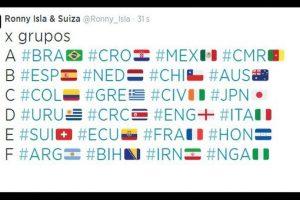 Hubo banderas de los 32 países participantes. Foto:vía Twitter.com. Imagen Por: