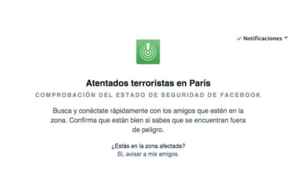 Las comprobaciones de seguridad después de los atentados en Francia el viernes. Foto:Facebook. Imagen Por: