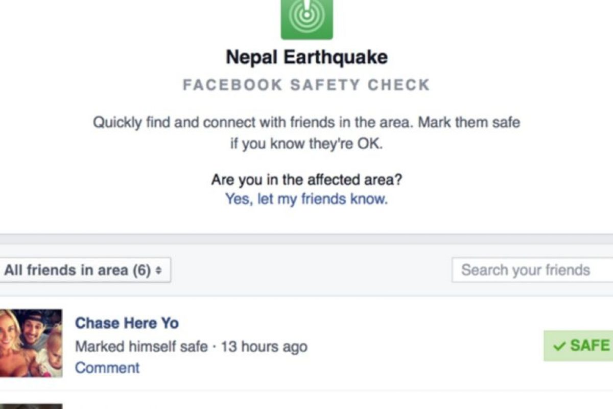 Nepal sufrió un terremoto de 7.8 grados richter el pasado 25 de abril de 2015. Foto:Facebook. Imagen Por: