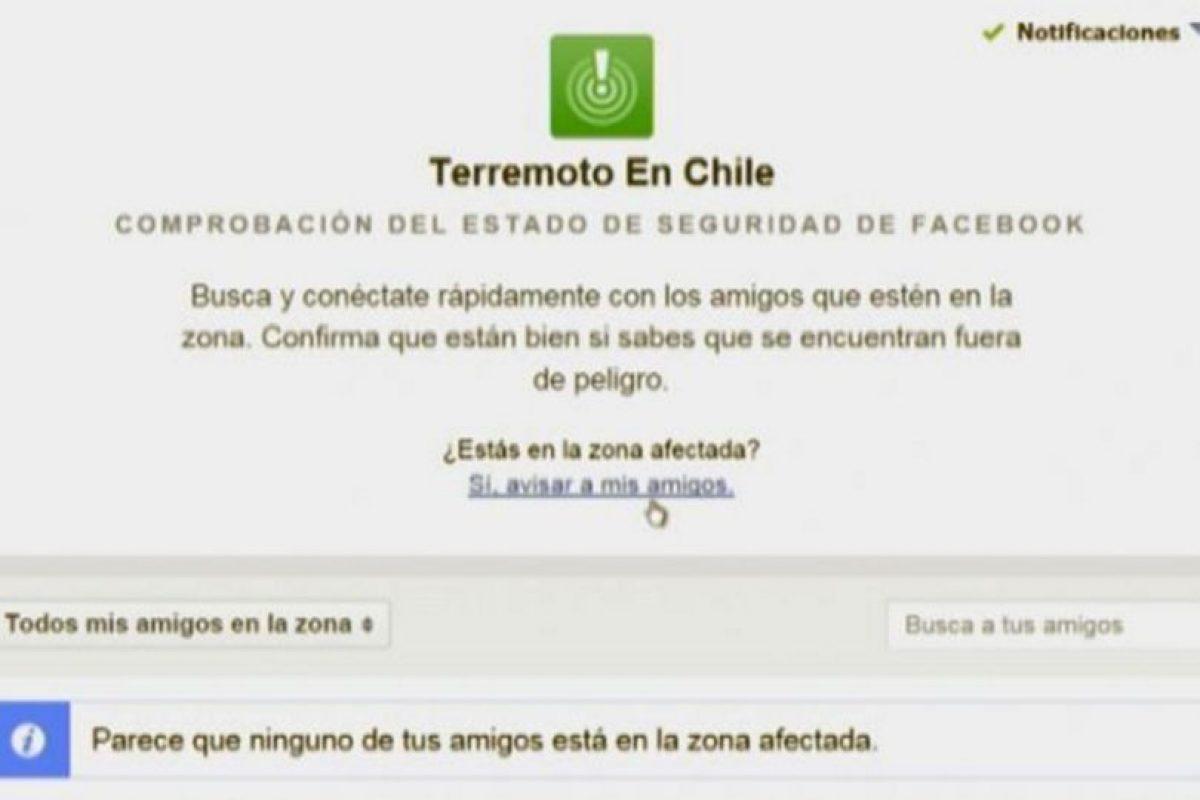 El pasado 16 de septiembre, un terremoto de 8.3 grados richter sacudió la zona centro-norte de Chile. Foto:Facebook. Imagen Por:
