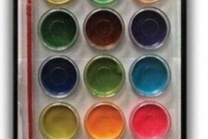 Acuarelas. Foto:vía Pinterest.com. Imagen Por: