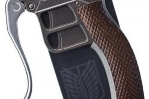 Parte de una pistola. Foto:vía Pinterest.com. Imagen Por: