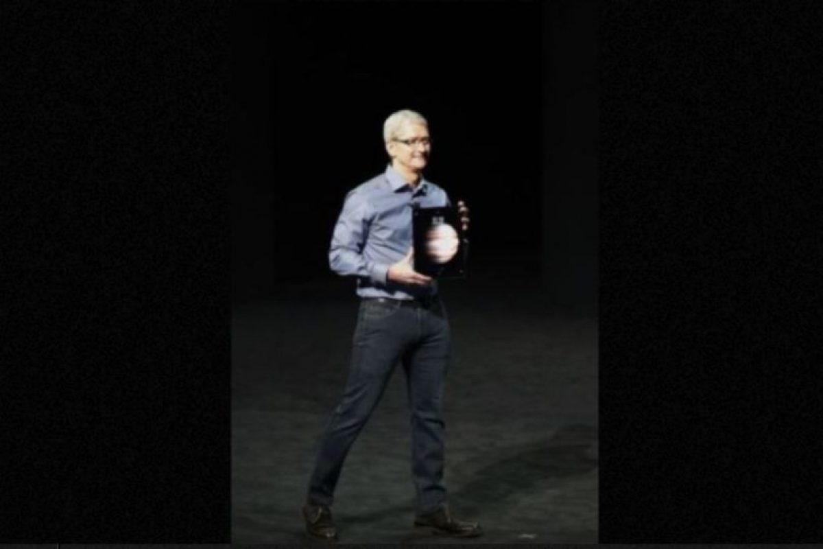 La cámara frontal es de 1.2 megapíxeles. Foto:Apple. Imagen Por: