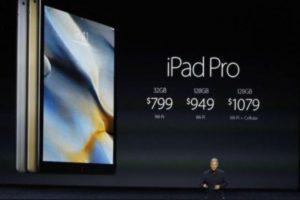 Su precio es de 799 dólares (32GB + Wi-Fi), 949 dólares (128GB + Wi-Fi) y 1,079 dólares (128GB + W-iFi). Foto:Apple. Imagen Por: