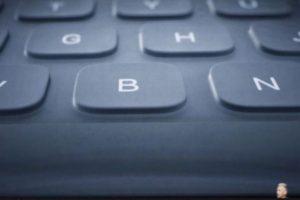 Este es el teclado inteligente. Foto:Apple. Imagen Por: