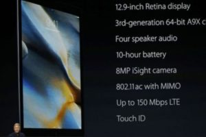 Más detalles del iPad Pro. Foto:Apple. Imagen Por: