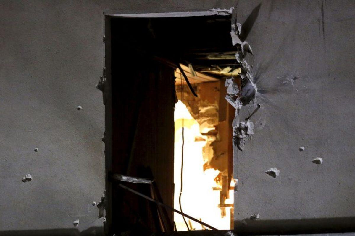 Hubo intercambio de fuego por más de cinco horas. Foto:AP. Imagen Por: