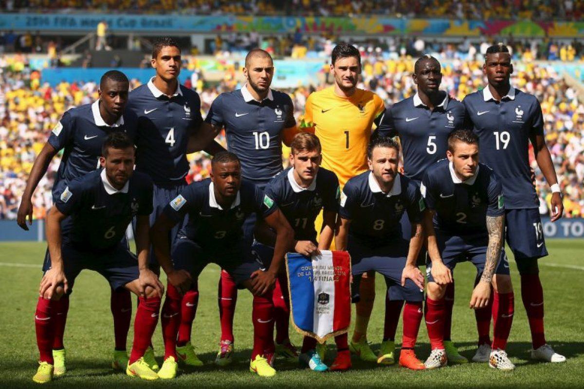 1. Francia Foto:Getty Images. Imagen Por: