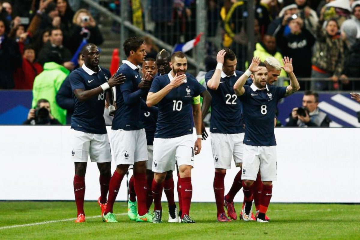 """""""Les Bleus"""" están clasificados por ser el país organizador. Foto:Getty Images. Imagen Por:"""