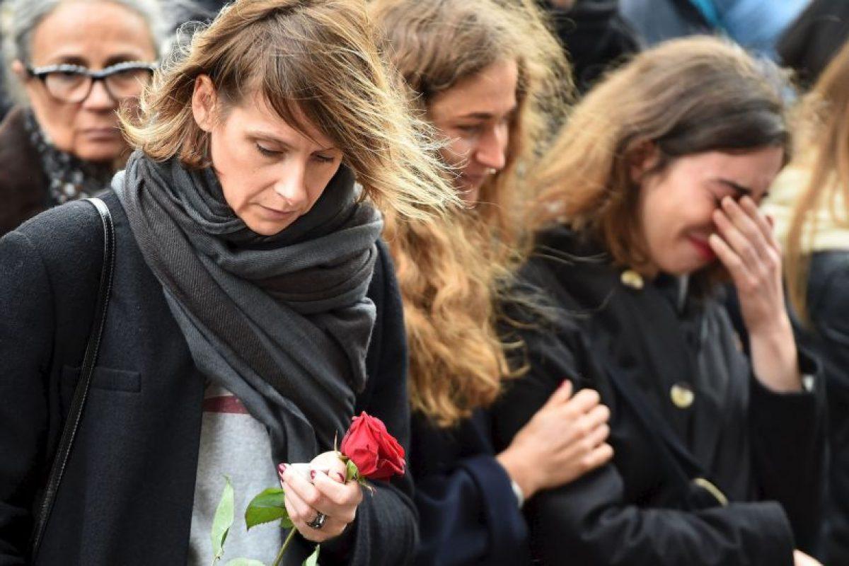 """En enero, tras los atentados a la revista """"Charlie Hebdo"""", Anonymous publicó miles de nombres de personas relacionadas al terrorismo. Foto:Getty Images. Imagen Por:"""
