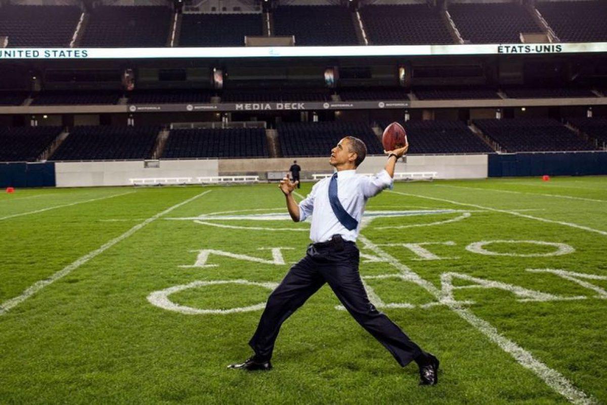 Aunque se sorprendió del salario que gana el comisionado de fútbol americano. Foto:Vía instagram @petesouza. Imagen Por: