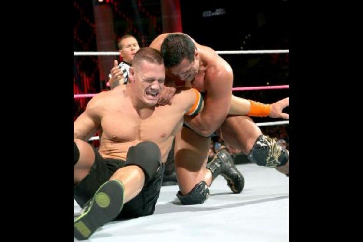 6. Jugaba como centro. Foto:WWE. Imagen Por: