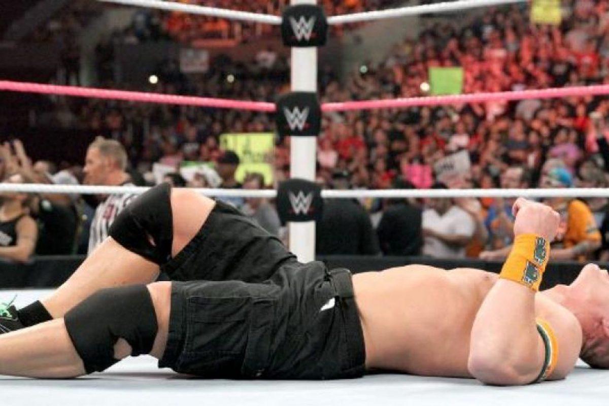 1. Su nombre real es John Felix Anthony Cena Foto:WWE. Imagen Por: