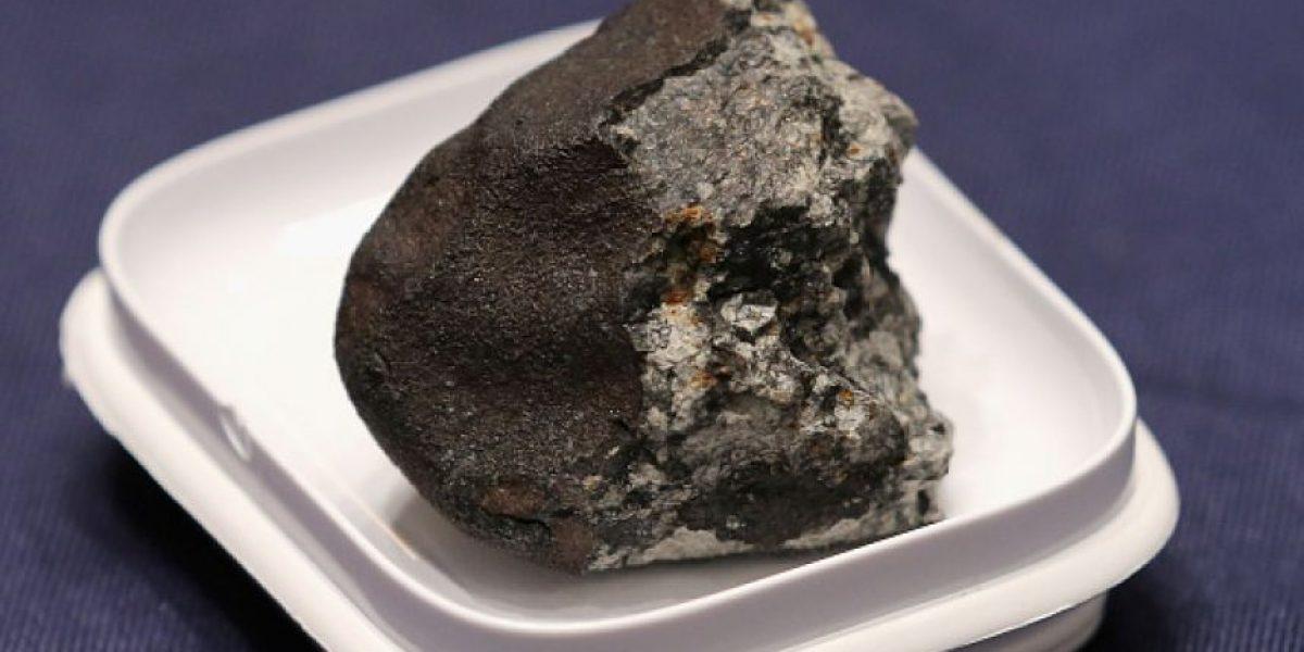 Sernageomin encontró dos valiosos meteoritos en el desierto de Atacama