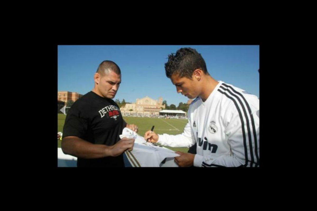Luchador de la UFC. Foto:realmadrid.com. Imagen Por: