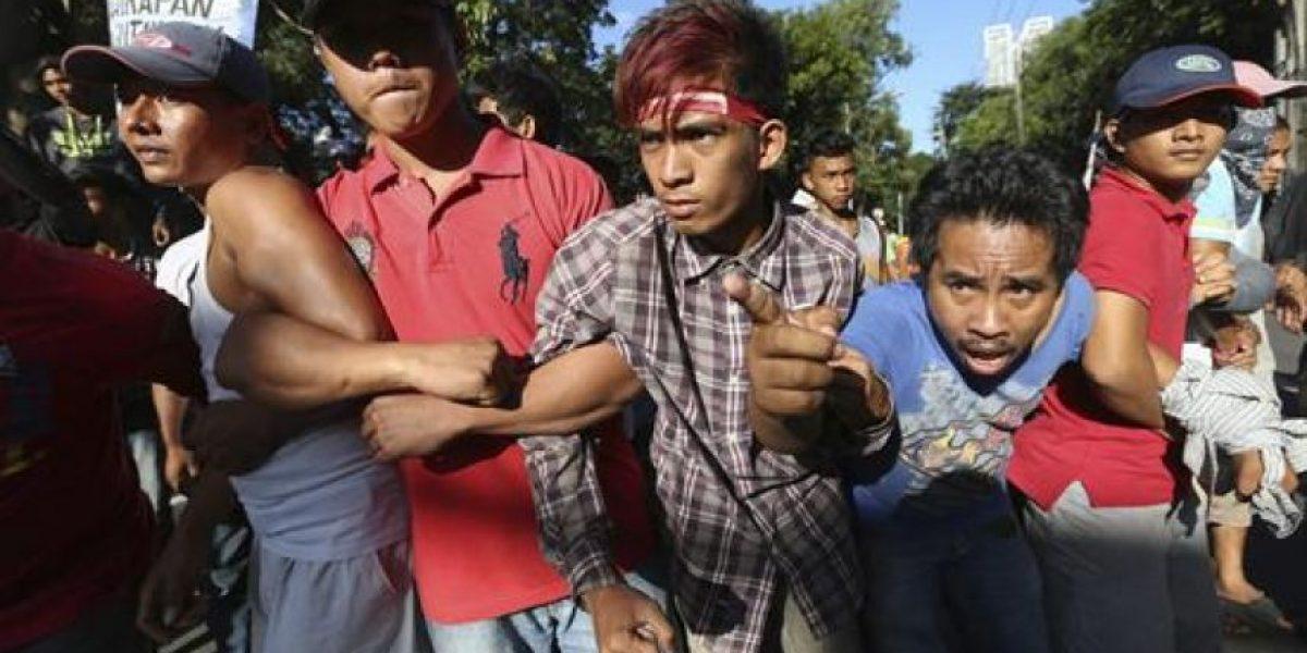 Katy Perry, los Bee Gees y David Guetta para intimidar a los manifestantes en Manila