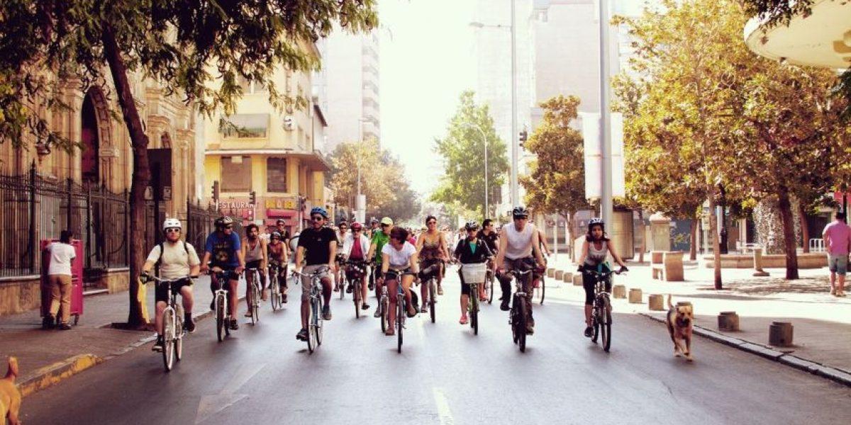 Primer Bicimambo del Foro Mundial de la Bicicleta Chile 2016