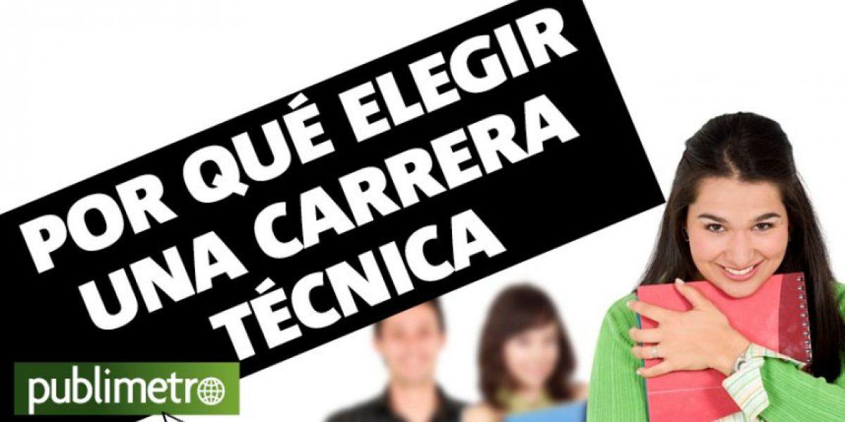 Infografía: ¿Por qué elegir una carrera técnica?