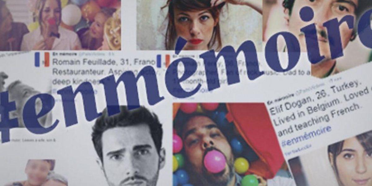 El sentido homenaje en fotos a las víctimas de París que emociona Twitter